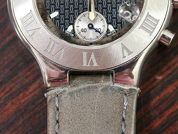 buy popular 6e847 8634c モレラート】カルティエ クロノスカフのベルト製作 « 時計屋 ...